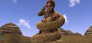sheva_snake_peril_1_by_swiftbladez-d4curaz