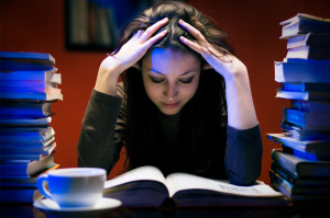 woman-studying-florida-student-housing-for-sale